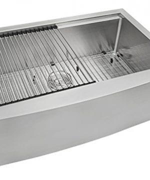 Ruvati Apront Front 16 Gauge Kitchen Sink Single Bowl 0 3 300x360