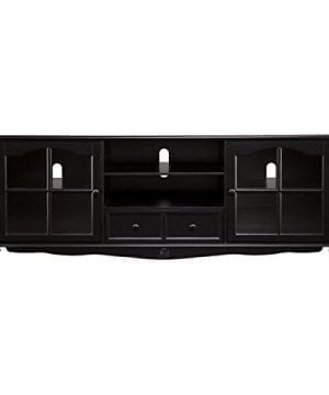 SEI Coventry Antique Black Large Television Console 0 0 300x360