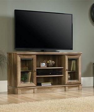 Sauder Regent Place TV Stand In Craftsman Oak 0 300x360