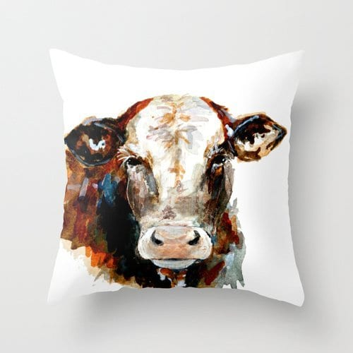 Animal Pillow Covers 16 X 16 Inches 40 By 40 Cm Gift Or Decor For Bedroom Play Room Kids Room Festival Bar Seat Each Side 0