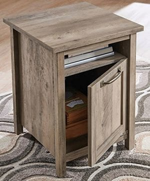 Better Homes And Gardens Modern Farmhouse Side Table Nightstands Rustic Gray Finish 0 0 300x360