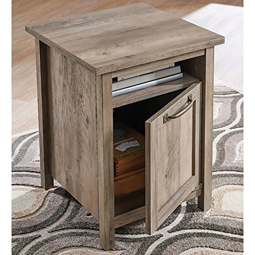 Better Homes And Gardens Rustic Gray Farmhouse Side Table