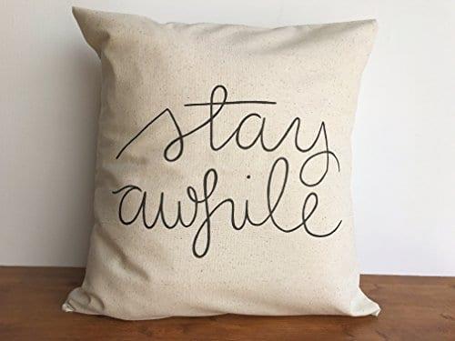 Farmhouse Pillow Covers Lets Get Cozy 0