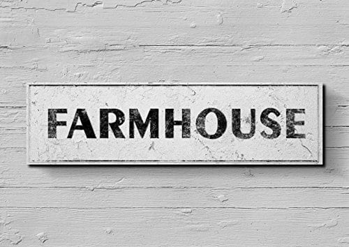 Farmhouse Rustic Kitchen Vintage Home Decor Outdoor Indoor Sign 10x36 0 0