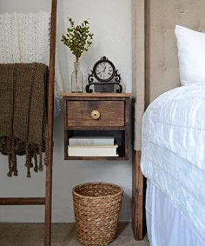 Floating Nightstand Pine 0 300x360