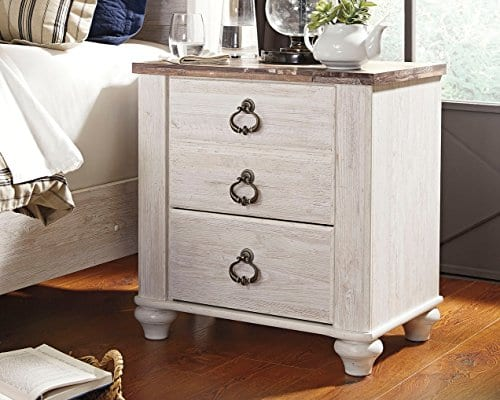Signature Design By Ashley B267 92 Willowton Nightstand 0 2