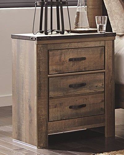 Signature Design By Ashley B446 92 Trinell Nightstand Brown 0 0