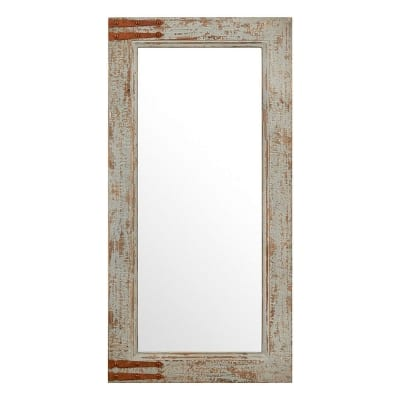 Stone & Beam Vintage-Look Rectangular Frame Mirror