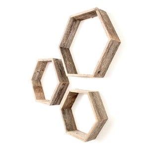 sayli-hexagon-3-piece-floating-shelf-set