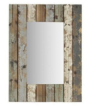 Aspire Home Accents 5186 Torres Farmhouse Wall Mirror Multicolor 0 300x360