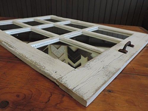 Barn Window Pane Mirror Homesteader Style 235 Inch X 3325 Inch 0 0