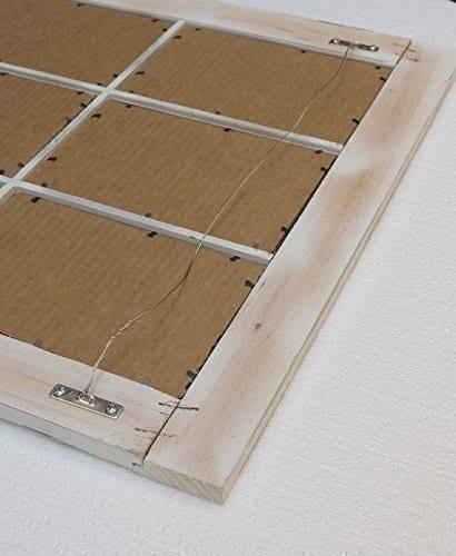 Barn Window Pane Mirror Homesteader Style 235 Inch X 3325 Inch 0 1