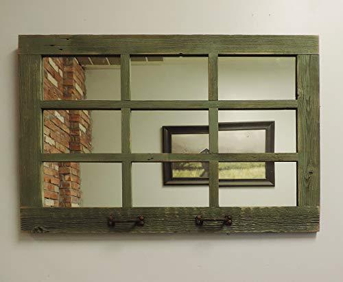 Barn Window Pane Mirror Homesteader Style 235 Inch X 3325 Inch 0 3