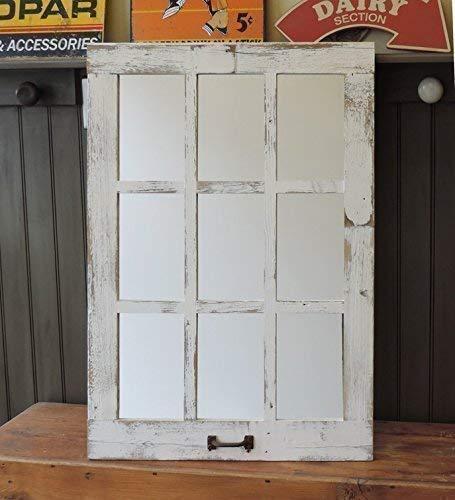 Barn Window Pane Mirror Homesteader Style 235 Inch X 3325 Inch 0