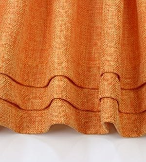 Aiking Home Solid Faux Linen Pleated Valance 56 By 14 Inches 0 1 300x333