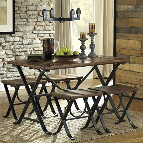 Ashley Furniture Signature Design Freimore Dining Room Table And Stools 0 0