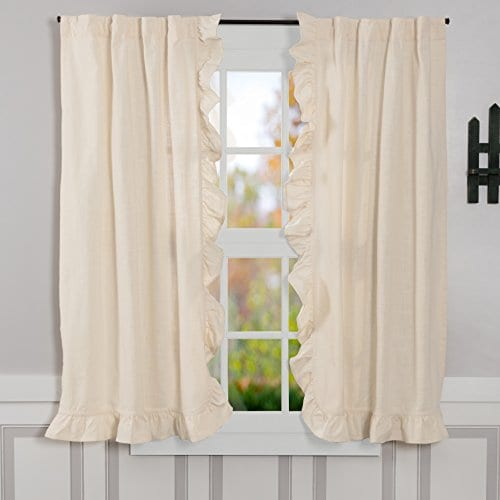 Ashley Natural Window Curtains 0
