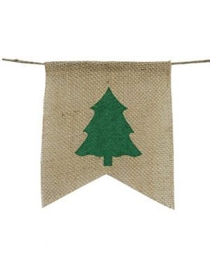 Be Merry Burlap Banner Christmas Burlap Banner Christmas Tree Garland Holiday Bunting Home Garden Indoor Outdoor Banner Natural Burlap Banner Christmas Decor Decorations 0 1 300x360