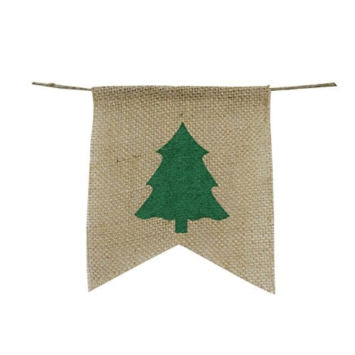 Be Merry Burlap Banner Christmas Burlap Banner Christmas Tree Garland Holiday Bunting Home Garden Indoor Outdoor Banner Natural Burlap Banner Christmas Decor Decorations 0 1