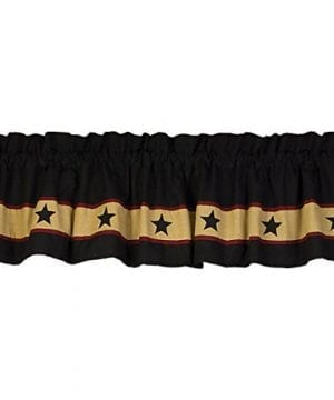 Black Barn Star Country Valance 0 300x360