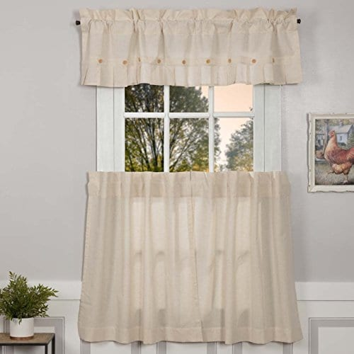 Claras Cottage Natural Window Curtains 0 0