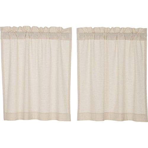 Claras Cottage Natural Window Curtains 0 1