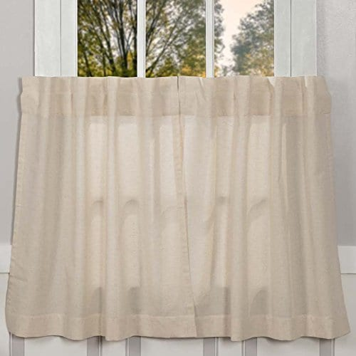 Claras Cottage Natural Window Curtains 0