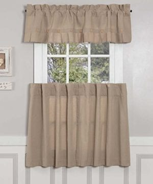 Claras Cottage Taupe Window Curtains 0 0 300x360