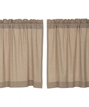 Claras Cottage Taupe Window Curtains 0 1 300x360
