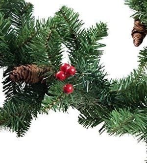 Clever Creations Christmas Garland 0 1 300x333