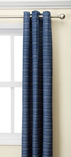 Comfort Spaces Grasscloth Window Curtain PairSet Of 2 Panels 0