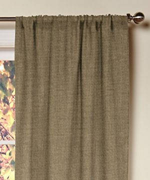 Cotton Craft 100 Jute Burlap Rod Pocket Window Panels Natural Set Of 2 Made From Eco Friendly 100 Natural Jute 0 0 300x360