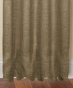 Cotton Craft 100 Jute Burlap Rod Pocket Window Panels Natural Set Of 2 Made From Eco Friendly 100 Natural Jute 0 1 300x360