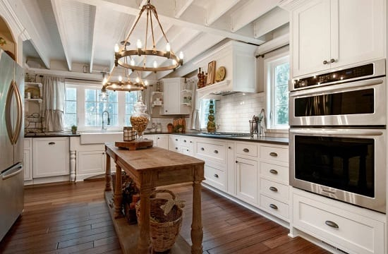 Country Kitchen - Woodenville WA by Vertical Construction Group LLC