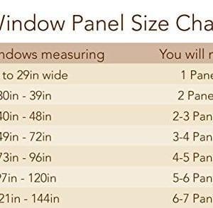Elrene Home Fashions Crushed Semi Sheer Adjustable Tie Top Single Panel Window Curtain Drape 0 3 300x293
