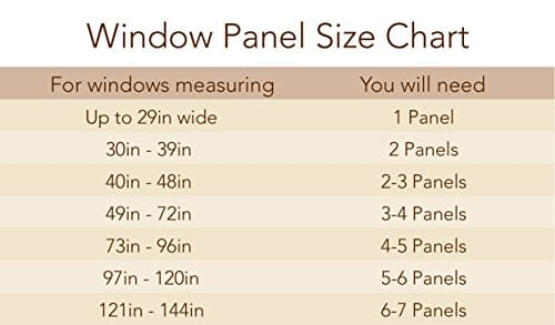 Elrene Home Fashions Crushed Semi Sheer Adjustable Tie Top Single Panel Window Curtain Drape 0 3