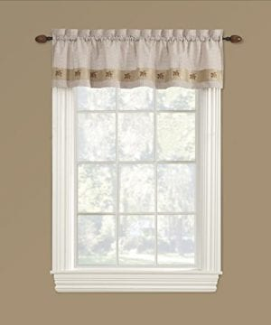 Embroidered Mini Plaid Curtain Kitchen Curtains Plaid Curtains Bathroom Curtains 0 300x360
