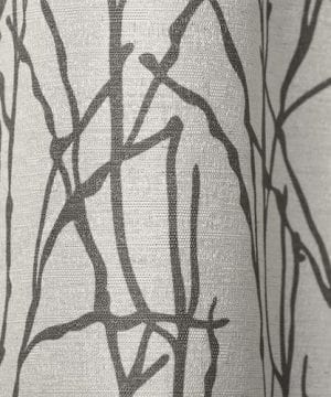 Exclusive Home Branches Linen Blend Window Curtain Panel Pair With Grommet Top 0 0 300x360