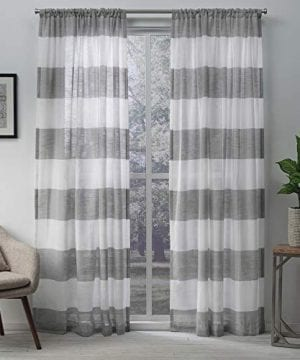 Exclusive Home Curtains Belgian PP Panel Pair 0 300x360