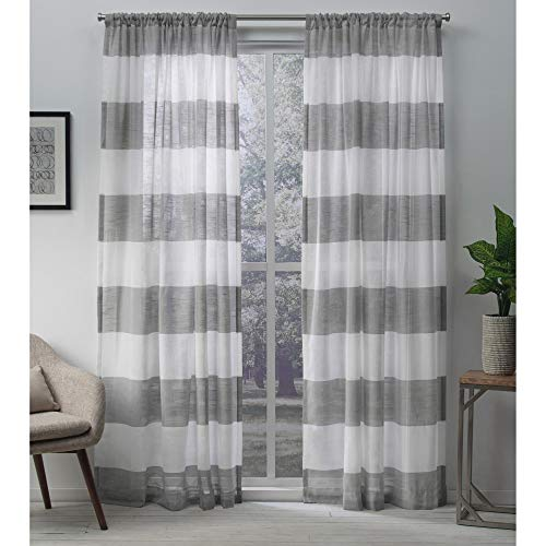 Exclusive Home Curtains Belgian PP Panel Pair 0