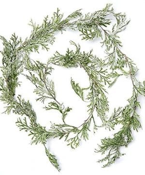 Factory Direct Craft Artificial Cypress Pine Garland 6 Feet Long 0 300x360