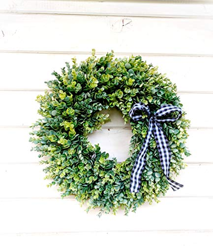 Farmhouse Wreath Eucalyptus