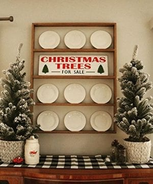 Fixer Upper Christmas Trees For Sale Wood Sign Rustic Christmas Sign Weathered Hand Painted Christmas Sign Large Distressed Christmas 0 300x360