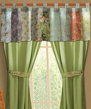 Greenland Home Fashions Blooming Prairie Valance 0 300x360