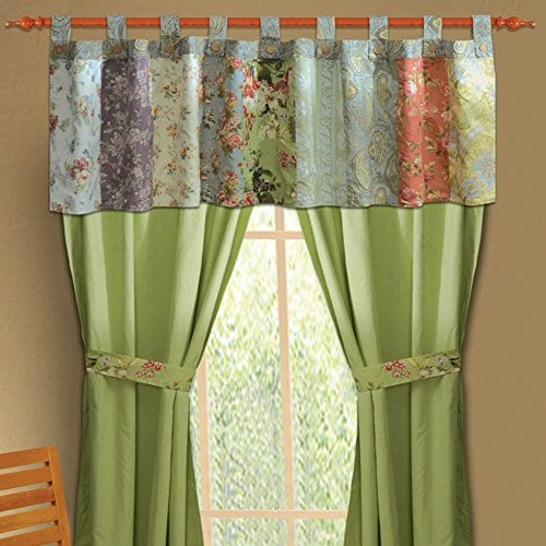 Greenland Home Fashions Blooming Prairie Valance 0