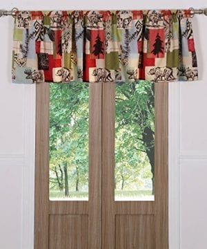 Greenland Home Fashions Rustic Lodge Window Valance 0 300x360