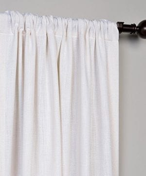 Half Price Drapes Heavy Faux Linen Curtain 0 1 300x360