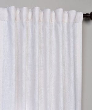 Half Price Drapes Heavy Faux Linen Curtain 0 2 300x360