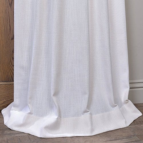 Half Price Drapes Heavy Faux Linen Curtain 0 3