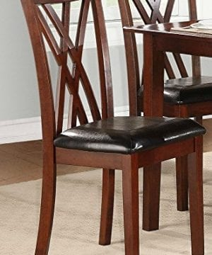 Homelegance Brooksville 6 Piece Dining Table Set With Bench Cherry 0 2 300x360